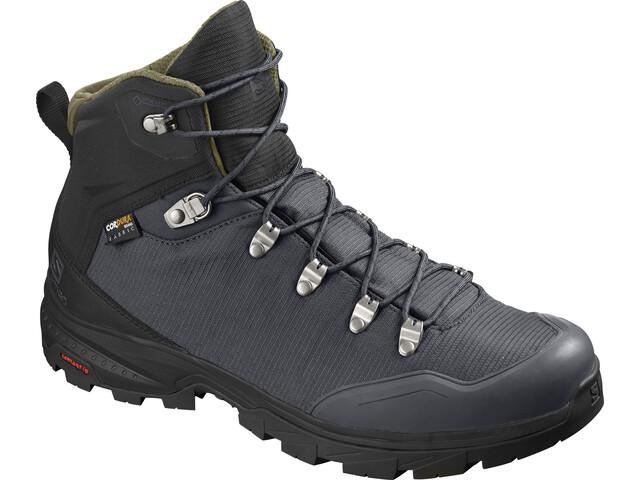 Salomon Outback 500 GTX Shoes Herr ebony/black/grape leaf